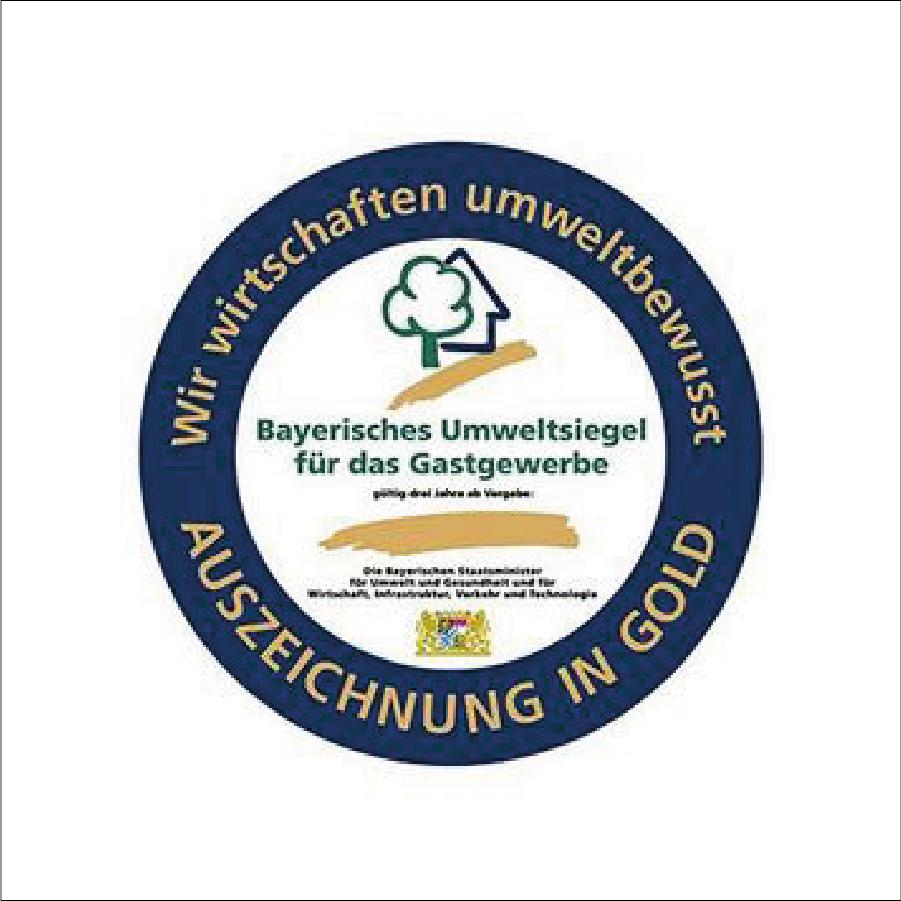 Auszeichnung Bayerisches Umweltsiegel